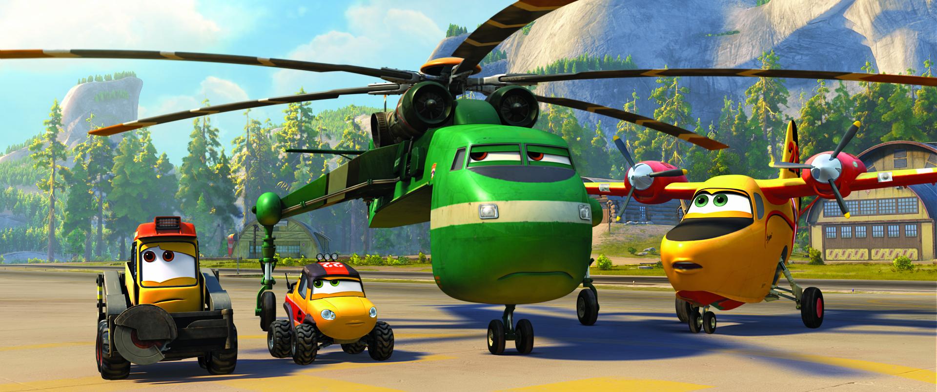《飞机总动员2:救火大行动》