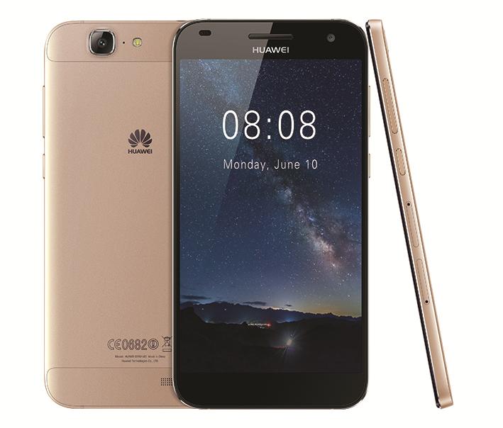 華為宣布在香港推出全新 HUAWEI G7 金色雙卡版智能手機,延續原有優雅精美的金屬機身設計,全新的金色雙卡版提升至支援4G+2G 雙卡雙待功能,讓用家隨時隨地暢遊於極速 4G 網絡。HUAWEI G7 金色雙卡版採用 Qualcomm 1.2GHz 四核處理器、支援 4G LTE Cat4 網絡技術。HUAWEI G7 金色雙卡版採用5.