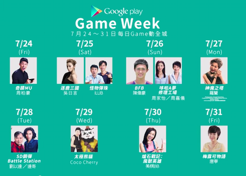 Google Play Game Week