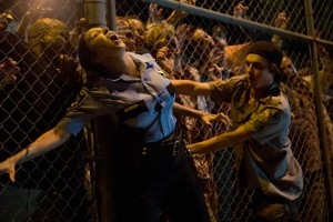 Logan Miller plays Carter in SCOUTS GUIDE TO THE ZOMBIE APOCALYPSE from Paramount Pictures.