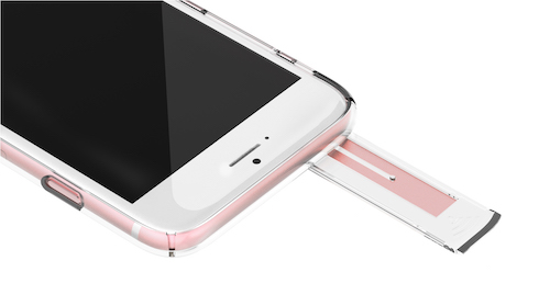 CLEAR i6S 05 Rose Gold