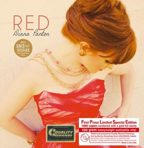 爵士天后,Diana Panton,限量版黑膠, 180g, Red 紅色情深, Believe in Little Things, 我的小世界