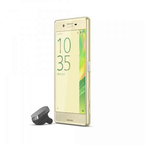 Xperia Ear Gold Front40