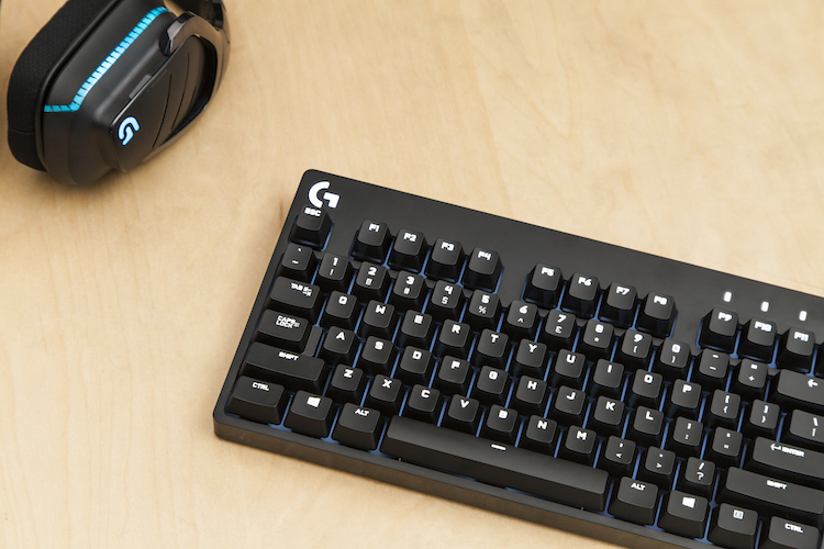 Logitech G610 with mouse