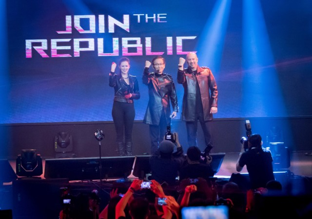 ASUS join the Republic of Gamers Event at Computex 2016