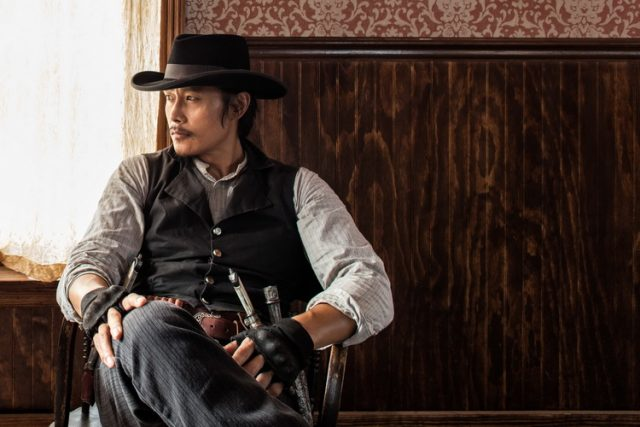 Byung-hun Lee stars in Metro-Goldwyn-Mayer Pictures and Columbia Pictures' THE MAGNIFICENT SEVEN.