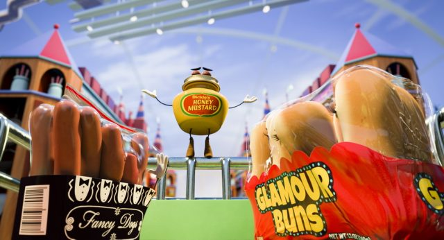 Honey Mustard (Danny McBride) in Columbia Pictures' SAUSAGE PARTY.