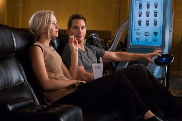 《太空潛航者》,PASSENGERS, 珍妮花羅倫絲, Jennifer Lawrence, 基斯柏特, Chris Pratt