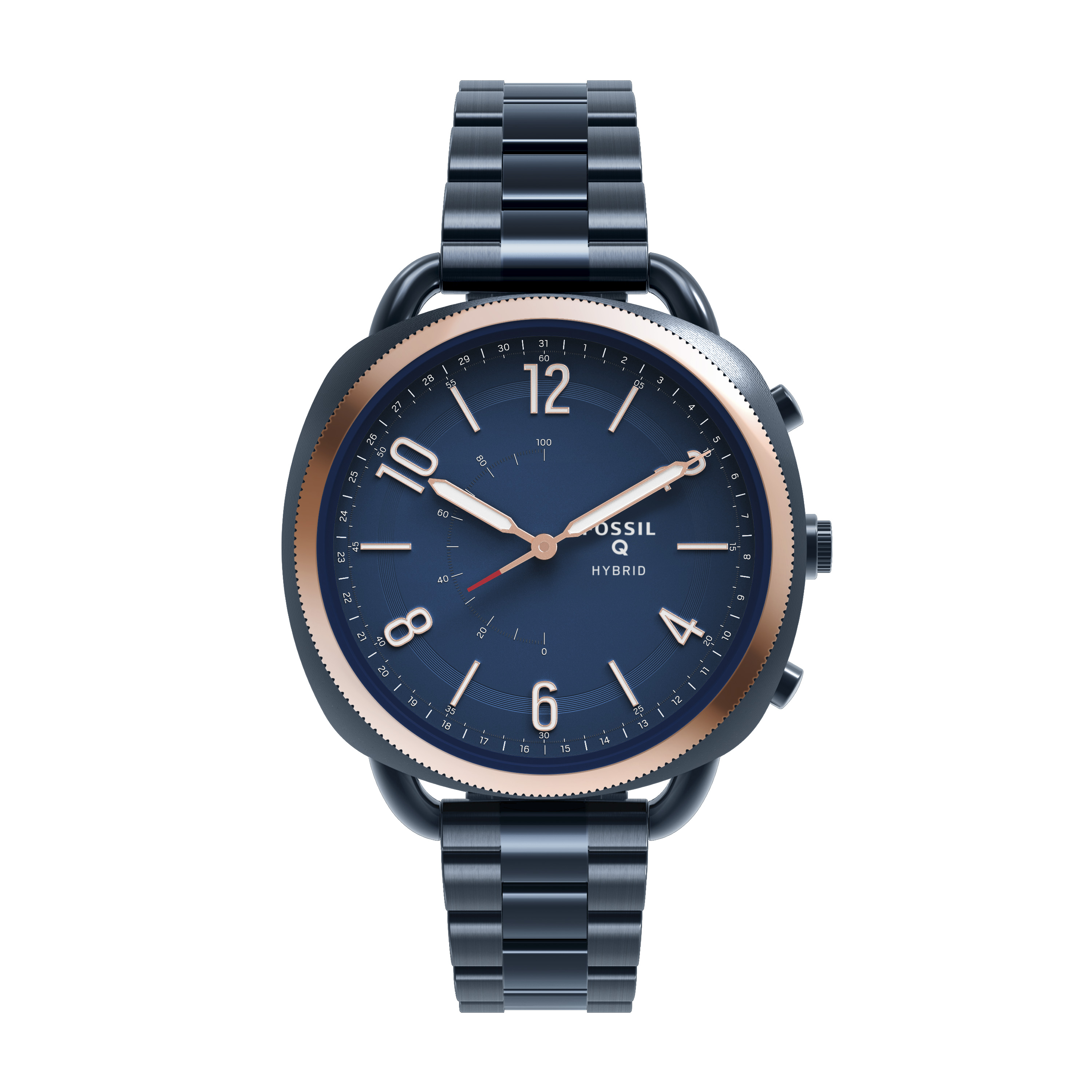 Fossil Q Accomplice Blue Variant Front