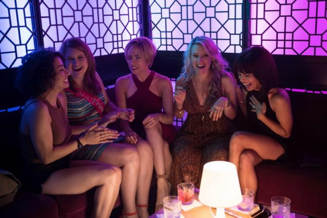 Scarlett Johansson;Kate McKinnon;Jillian Bell;Ilana Glazer;Zoe Kravitz in ROUGH NIGHT