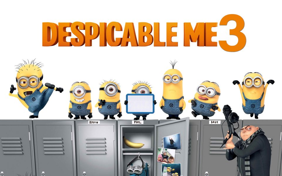 depicableme3, minions, gru