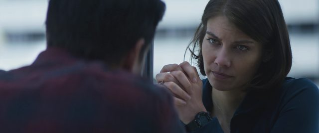 Lauren Cohan stars as Alice in the STXfilms MILE 22.