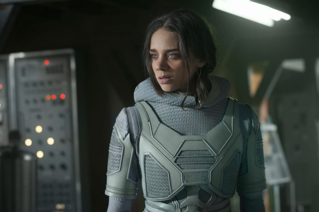 Marvel Studios ANT-MAN AND THE WASP..Ghost (Hannah John-Kamen)..Photo: Ben Rothstein..©Marvel Studios 2018