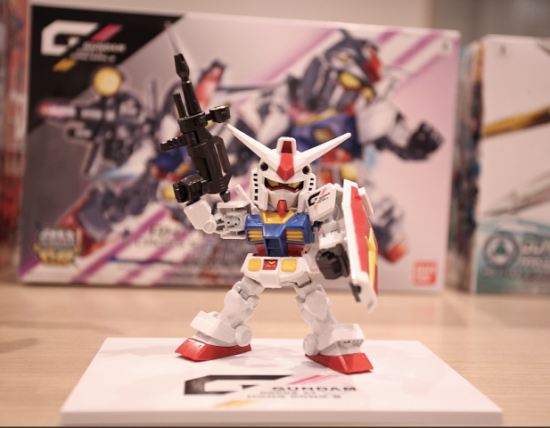 SDCS RX-8-2 GUNDAM&CROSS SIHOUETTE FRAME SET(GDHKIII LIMITED) $150