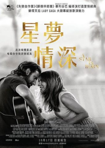 《星夢情深》,A Star Is Born, Lady Gaga,列谷巴, Bradley Cooper, 安德魯戴斯基利, Andrew Dice Clay, 、戴夫查普爾, Dave Chappelle, 森艾略特,Sam Elliott