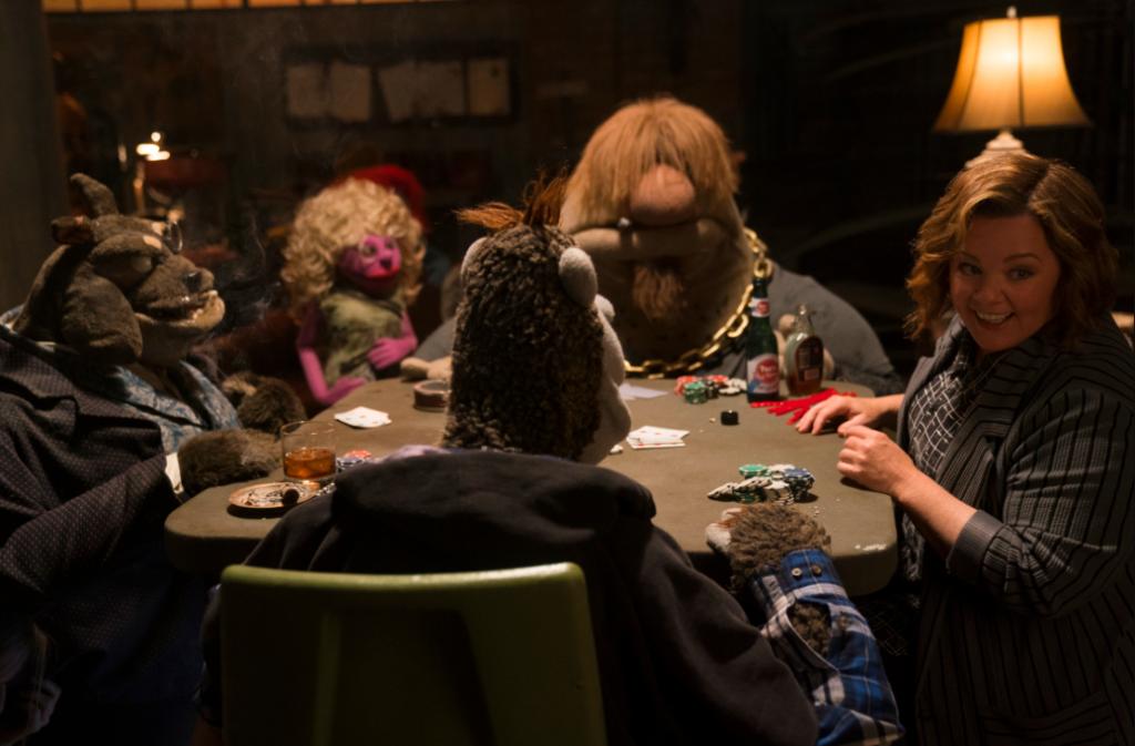 happytimemurders, Melissa McCarthy, sesamestreet, puppets