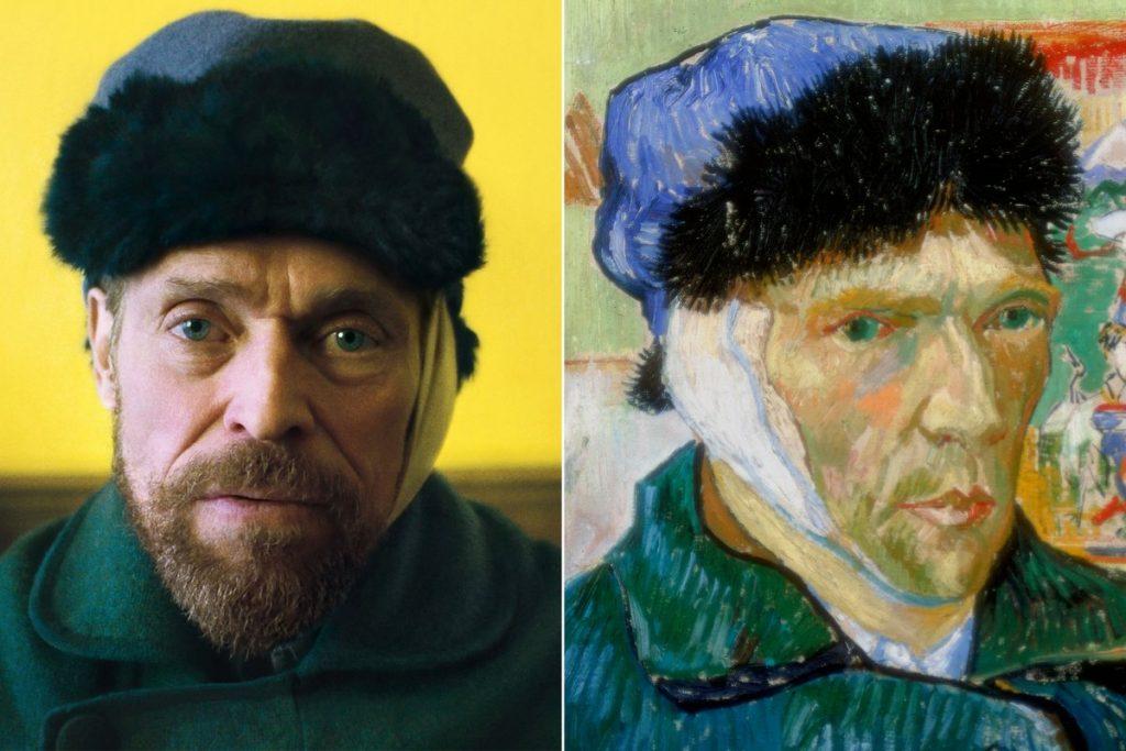 Willem Dafoe, Van Gogh, eternal's gate