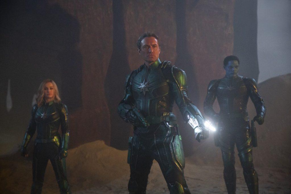 captainmarvel, marvel, brielarson, kree, stanlee, judelaw, shield